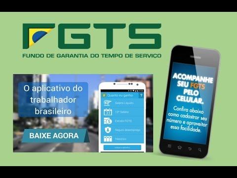 Consultar o FGTS no aplicativo