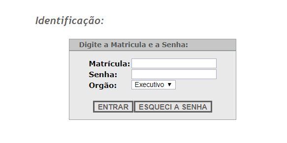 Consulta Online do Portal do Servidor Paraibano