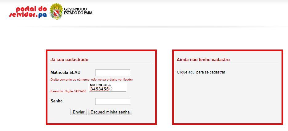 Emitir Contracheque pelo Portal do Servidor Paraense